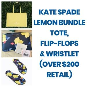 Kate Spade Lemon Bundle